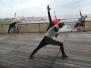 Joga i Pilates na tarasie restauracji Vinegre di Rucola 04.2014