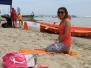 Zajęcia na plaży - joga 25.07.2015